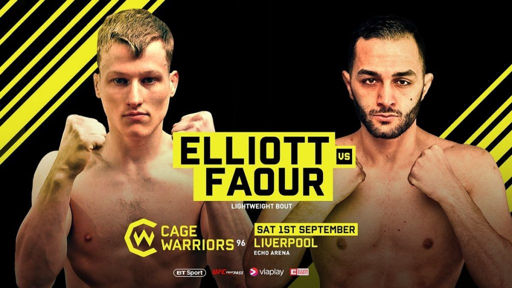 Mahmod Faour Kampft Bei Cage Warriors 96 In Liverpool